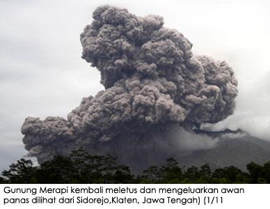 Erupsi Merapi